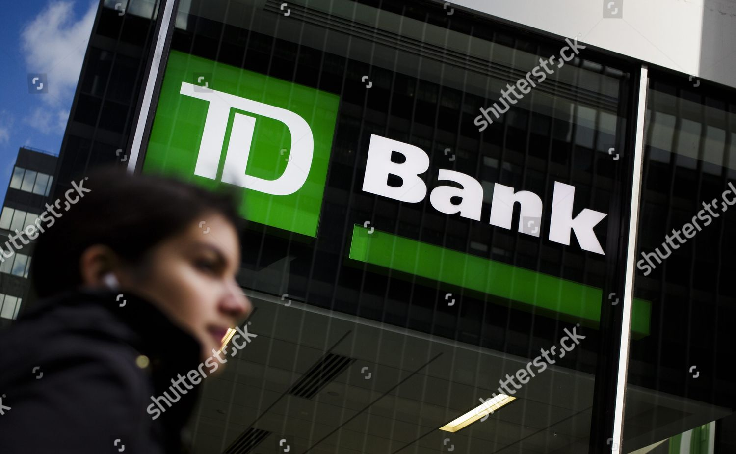 View Brand Td Bank One Td Ameritrades Editorial Stock Photo