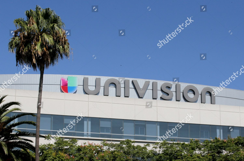 Editorial Stock Photo Of Univision Logo Los Angeles Headquarters