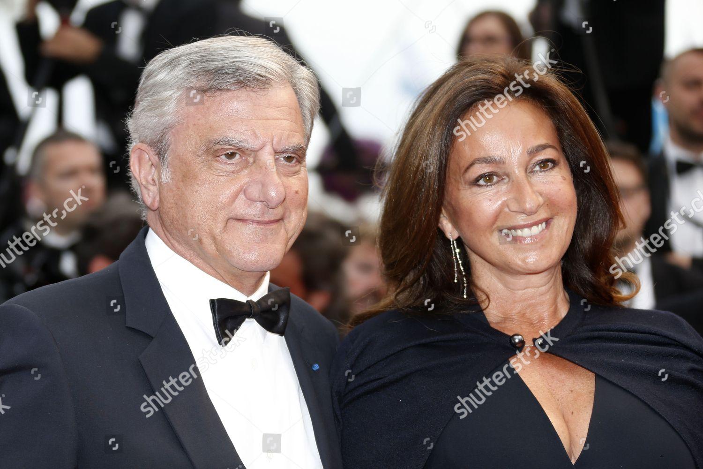 Dior Ceo Sidney Toledano l Wife Katia Editorial Stock Photo - Stock
