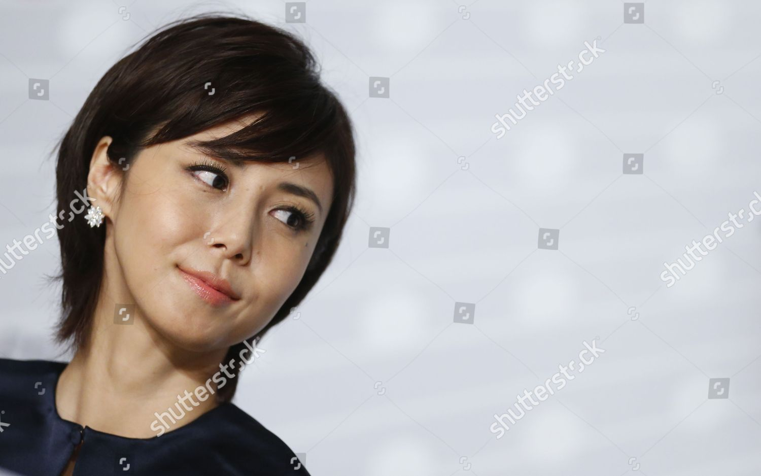 Japanese Actress Nanako Matsushima Attends Press Conference Editorial Stock Photo Stock Image Shutterstock