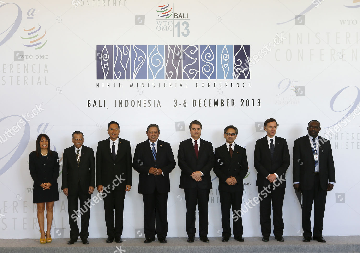 Stock photo of Indonesia Bali Wto Ministerial Conference - Dec 2013