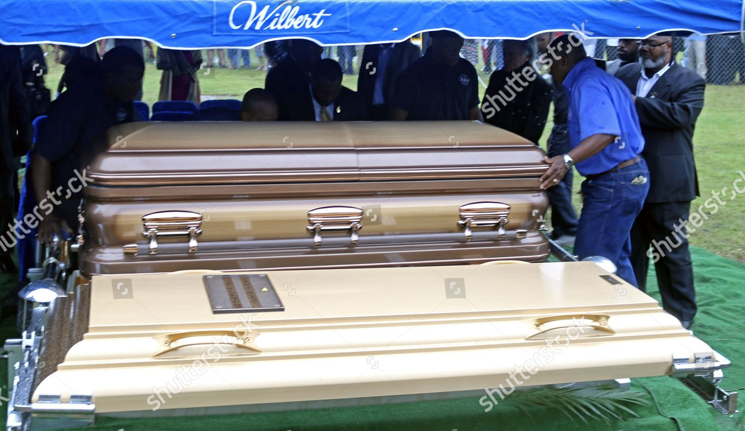 Casket Containing Body Blues Great B B Editorial Stock Photo