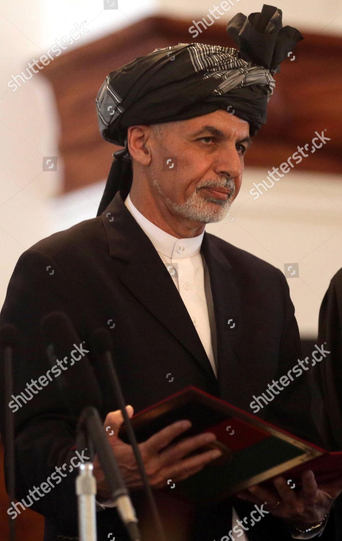 Afghan President Ashraf Ghani Takes Oath During Editorial