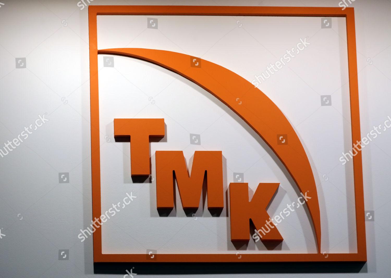 Company Logo Tmk russian Pipes Company Seen Editorial Stock
