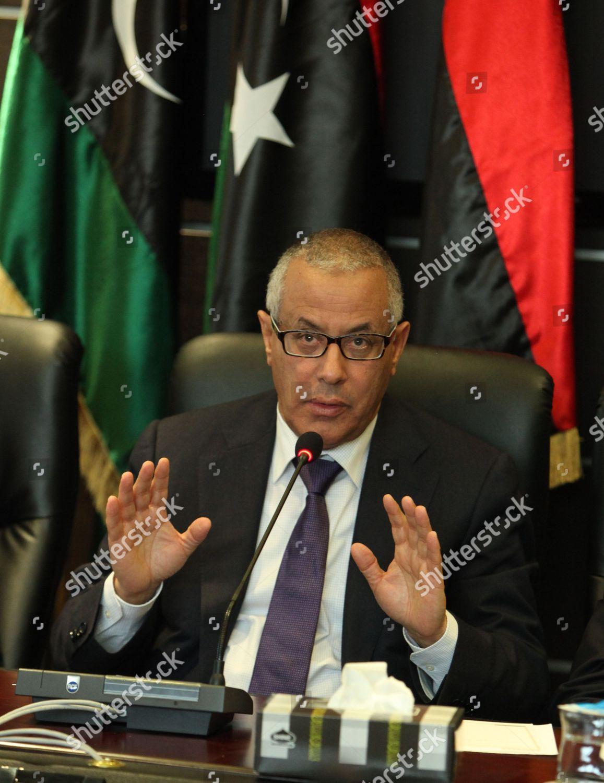 Libyan Prime Minister Ali Zeidan Speaks Press Editorial