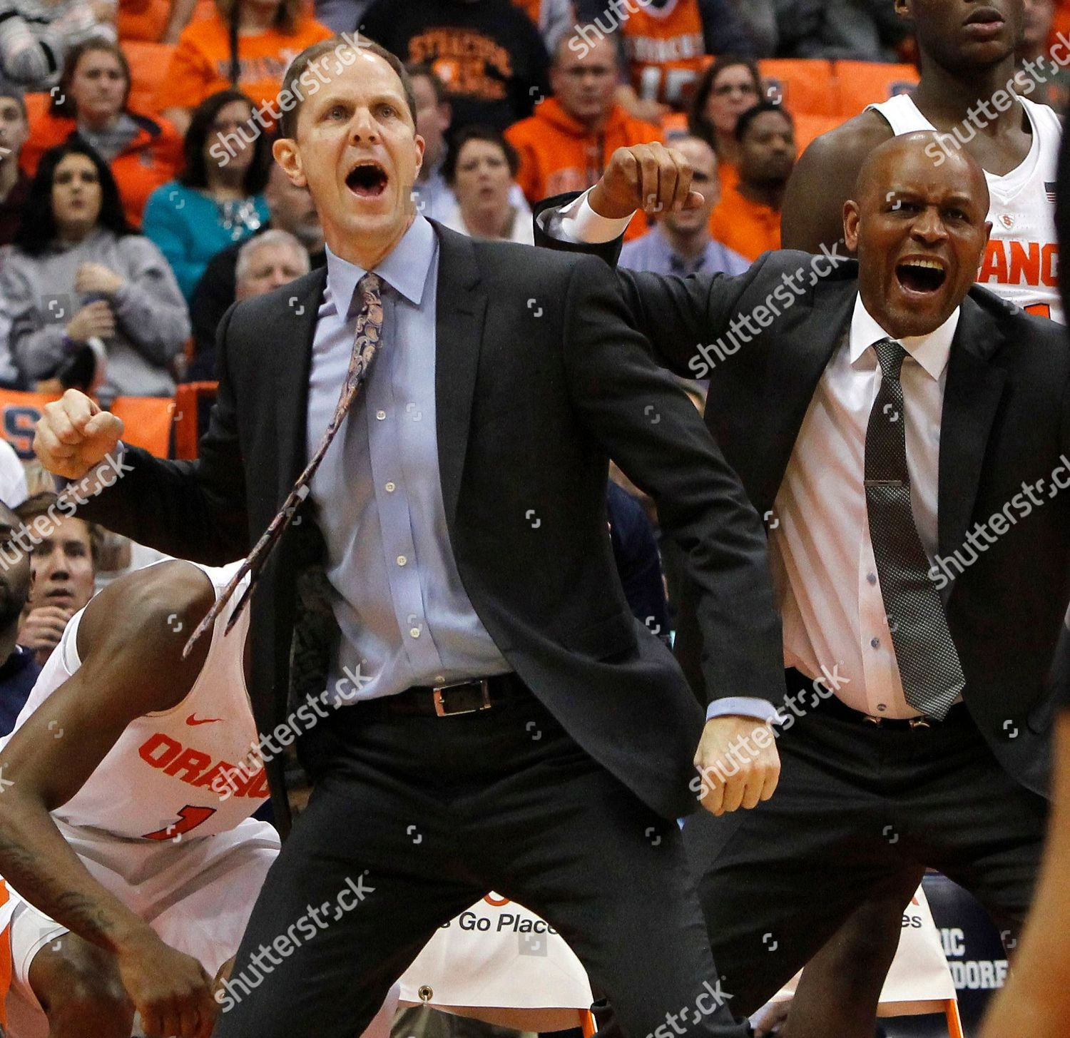 Mike Hopkins Adrian Autry Syracuse Assistant Coaches