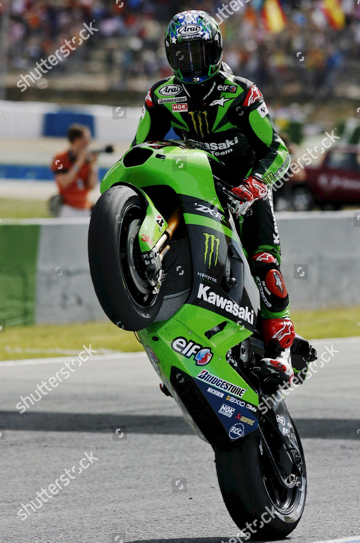 Us 125 Cc Rider John Hopkins Kawasaki Editorial Stock Photo Stock