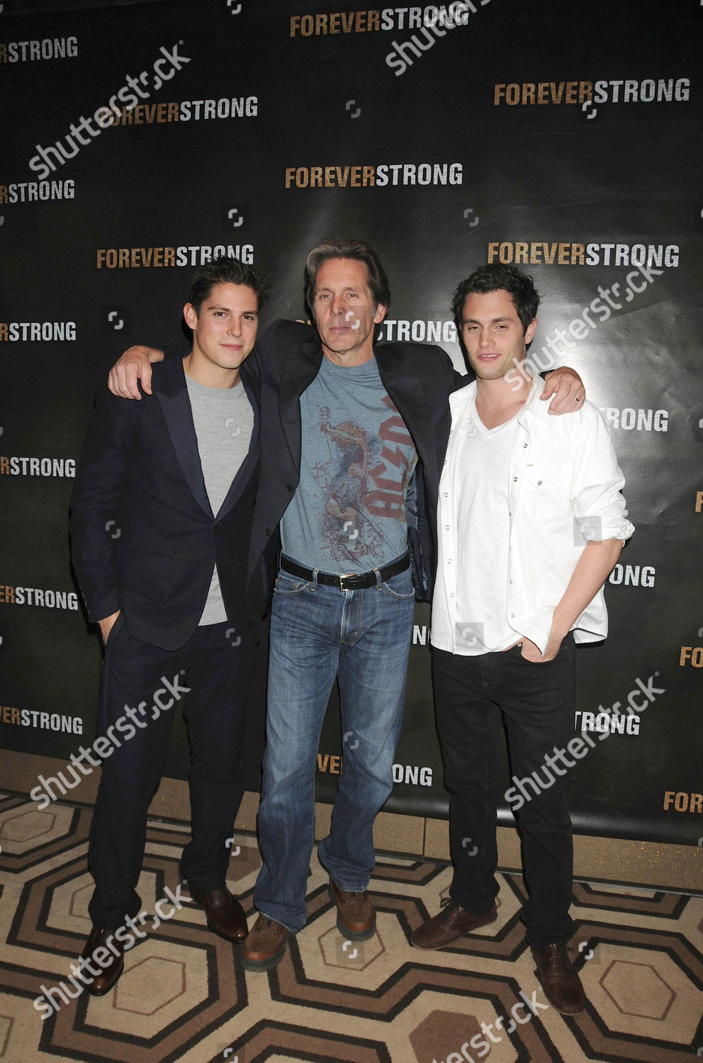 Stock photo of 'Forever Strong' film premiere at the Tribeca Grand Screening Room, New York, America - 18 Sep 2008