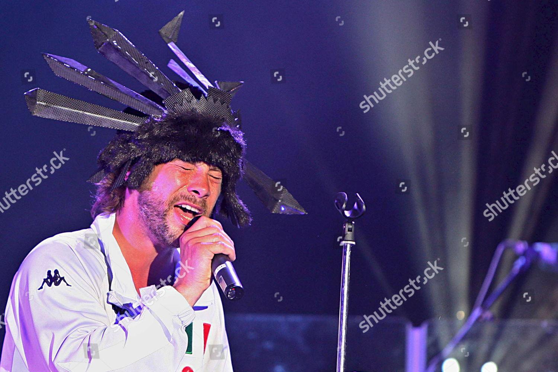 Stock photo of Spain Jamiroquai Concert - Jun 2008