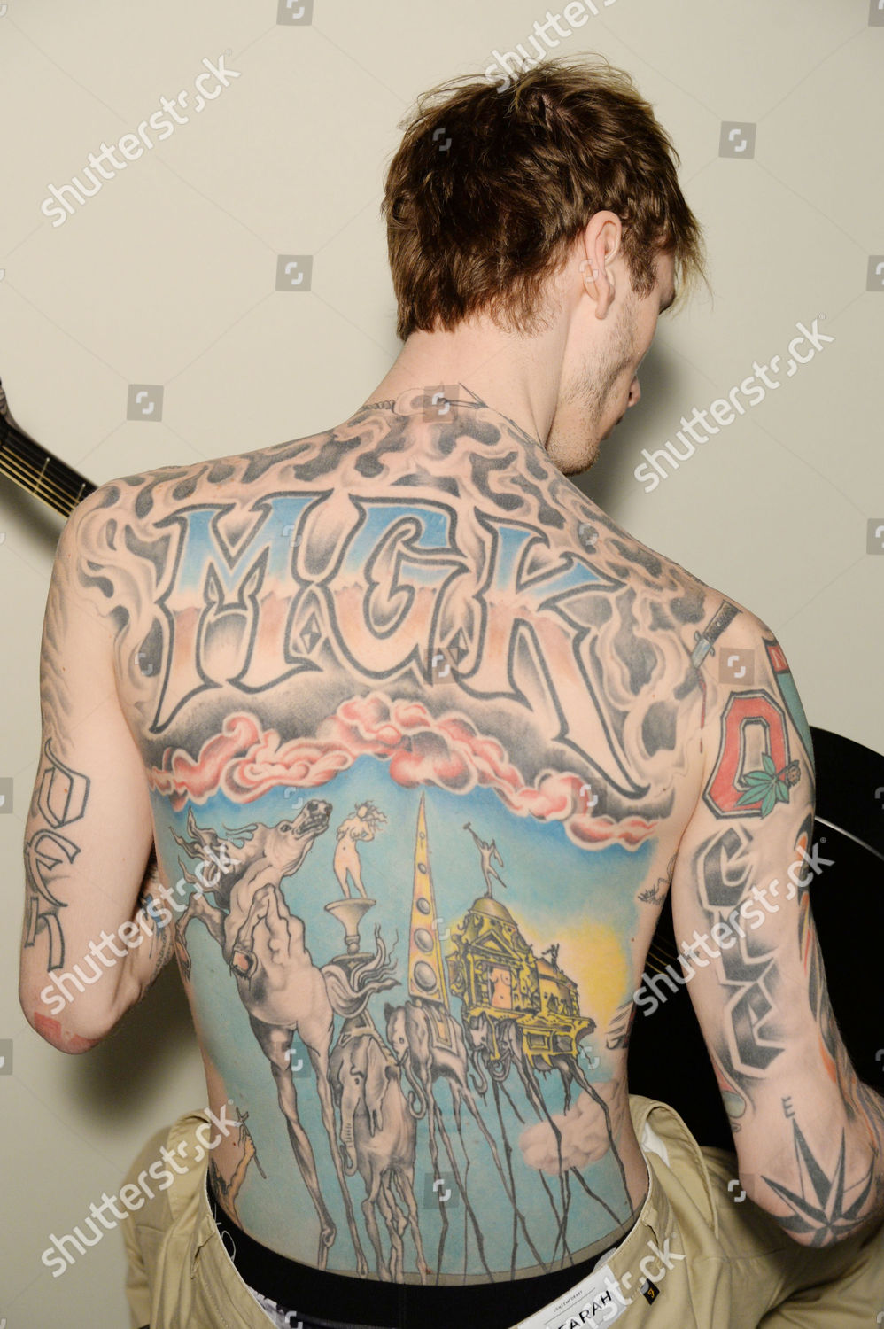Machine Gun Kelly Richard Young Gallery Editorial Stock Photo