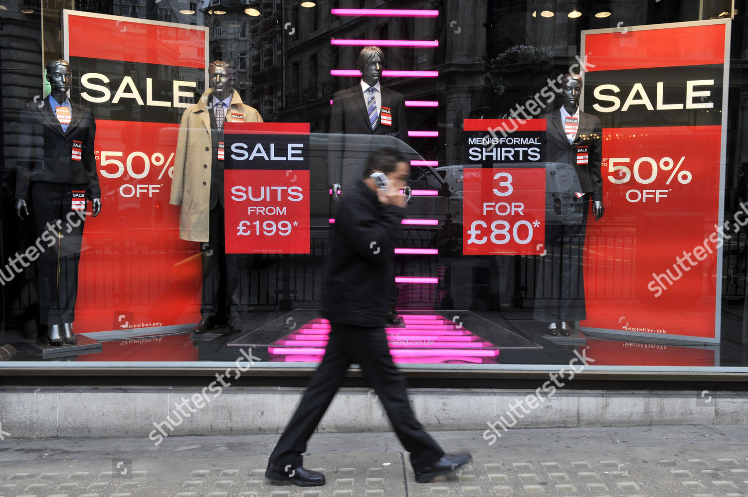 Austin Reed Sale Window Shopping Bargains Be Editorial Stock Photo Stock Image Shutterstock