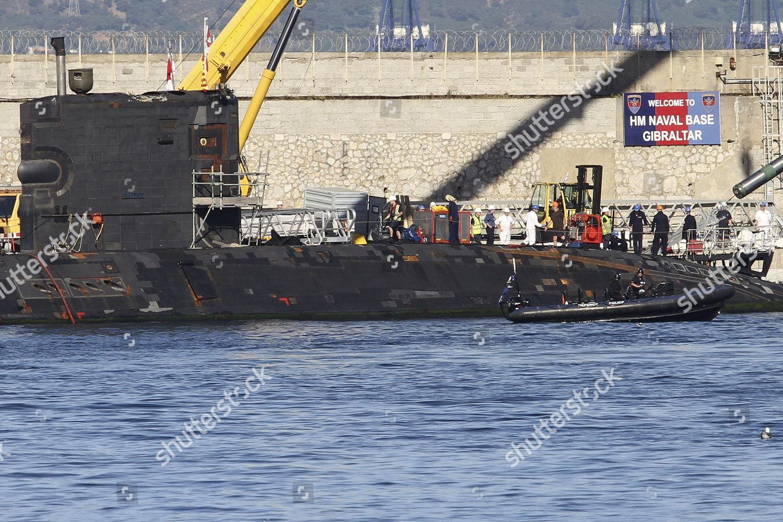 British Nuclear Submarine Hms Tireless Repared South