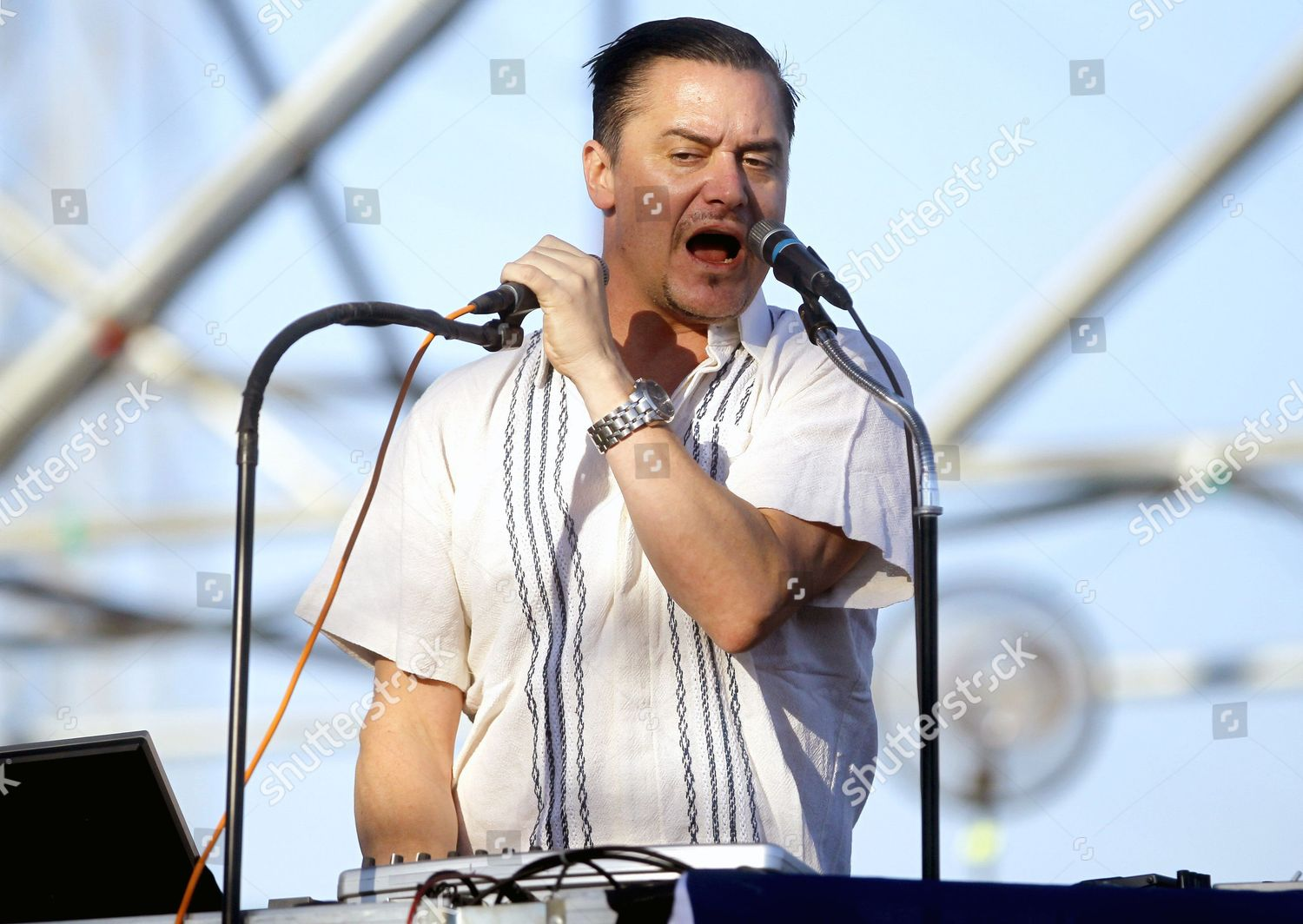 Us Singer Mike Patton Fantomas Band Performs Editorial Stock Photo Stock Image Shutterstock