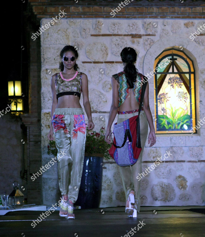 Models Present Creations By Spanish Designer Custo Editorial Stock Photo Stock Image Shutterstock