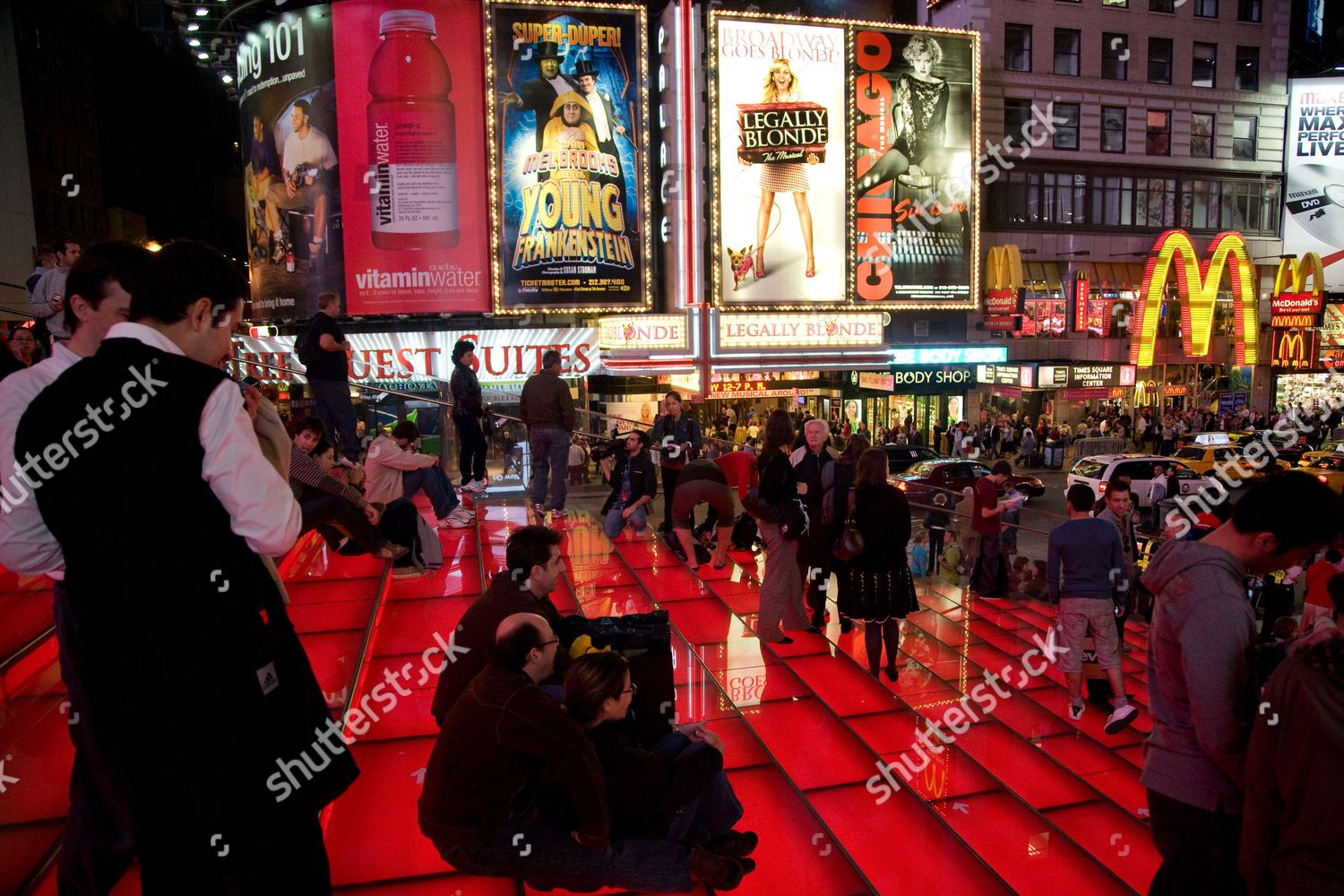 Opening of New TKTS Booth, Father Duffy Square, New York, America - 16