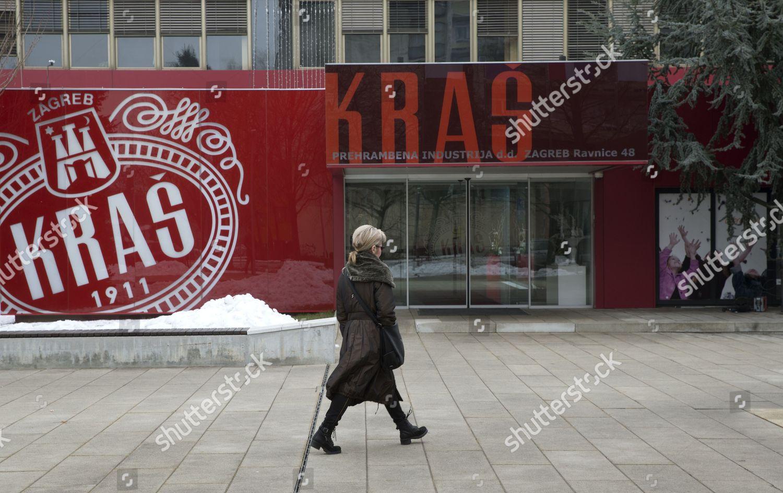 Exterior View Kras Candy Factory Zagreb Croatia Editorial Stock