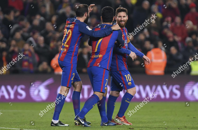 500fc42b4fe Stock photo of Football- Copa Del Rey 2016/17 Quarter Final Barcelona v Real