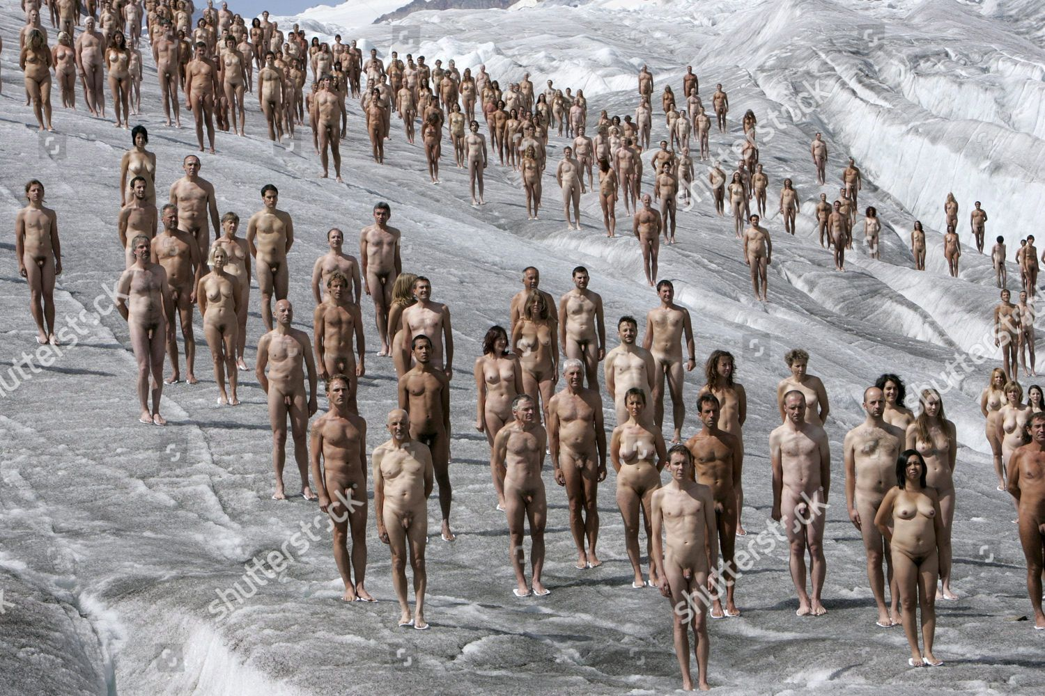 Spencer tunick naked people mistaken. You