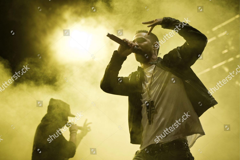German Rapper Anis Mohamed Youssef Ferchichi r Editorial Stock Photo
