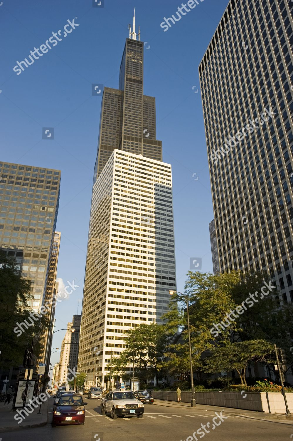 Sears Tower 110 Floors Became Tallest Building Editorial Stock