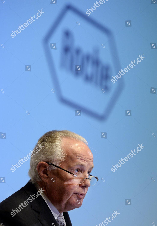 Franz B Humer Chairman Board Directors Ceo Editorial Stock Photo