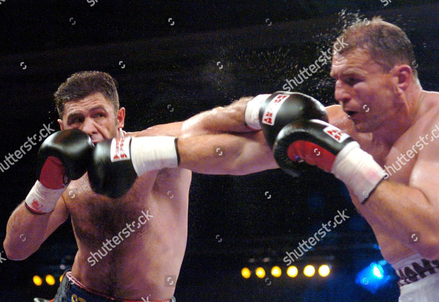 German Luan Krasniqi L Throws Punch His Editorial Stock Photo Stock Image Shutterstock