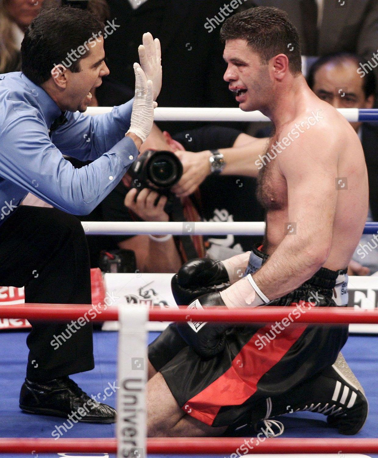 German Heavyweight Luan Krasniqi R Counted Out Editorial Stock Photo Stock Image Shutterstock