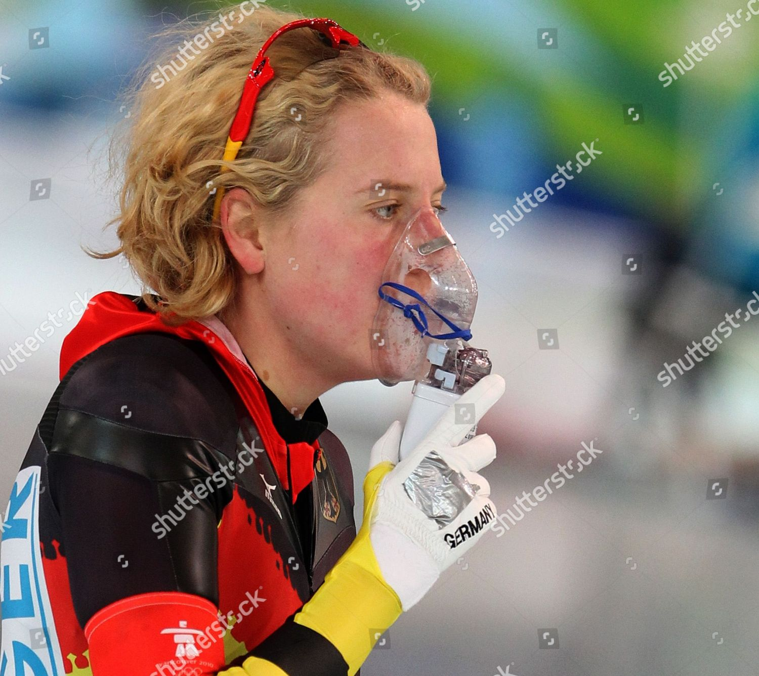 Katrin Mattscherodt Germany Uses Inhaler After Speed