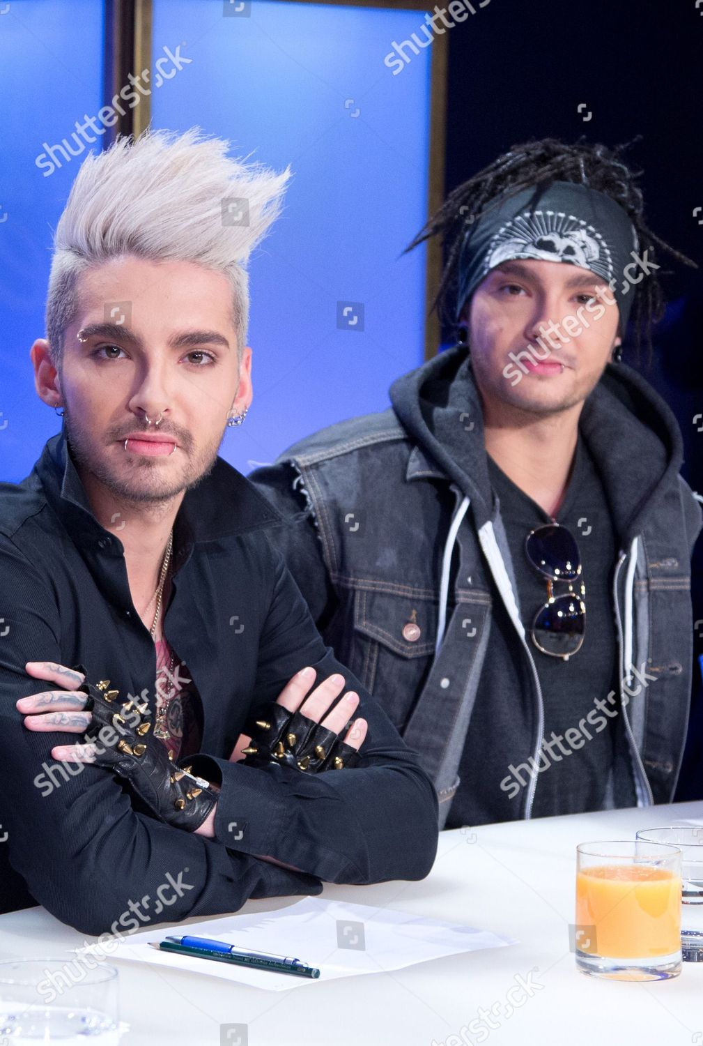 Jury Members Bill L Tom Kaulitz Band Editorial Stock Photo Stock