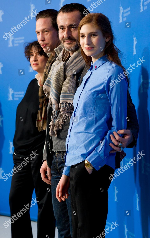 Actress Noemie Lvovsky lr Actor Reda Kateb Editorial Stock Photo
