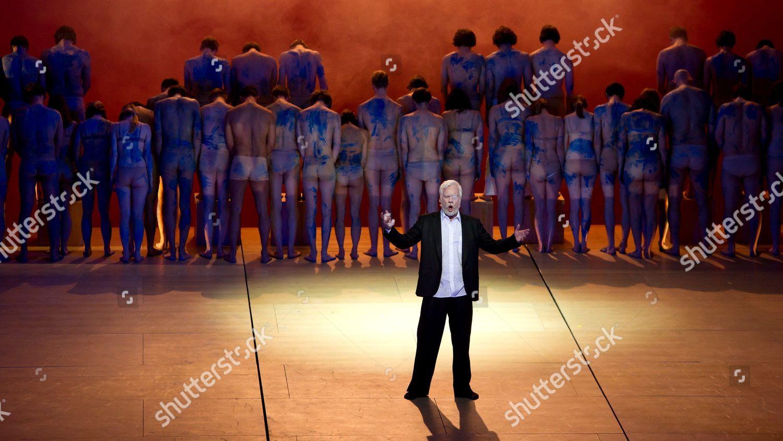 Actor Johan Reuter Wotan Performs Opera The Editorial Stock
