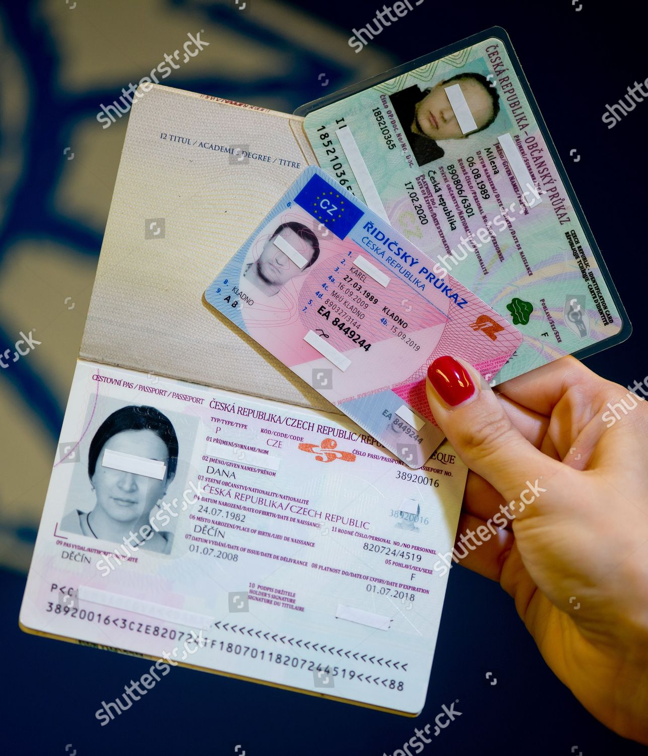 - Stock Shutterstock Photo A Passport Holds Editorial Image Lr Travel Forged Documents