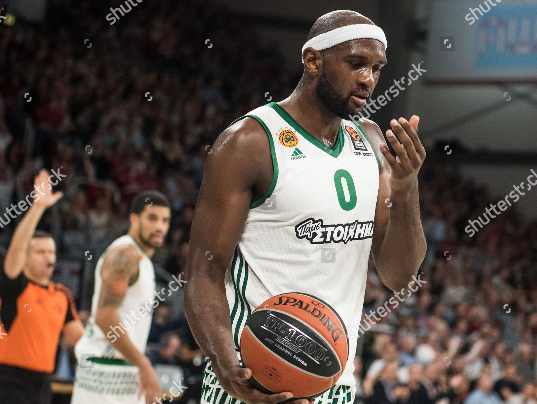 Panathinaikos Chris Singleton Reacts During Basketball Euroleague Editorial  Stock Photo - Stock Image