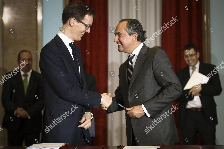Vinci Ceo Louisroch Burgard L Greets Parpublica Editorial Stock