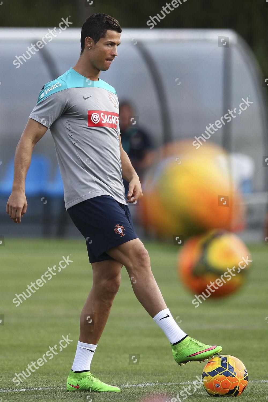 5783b85cbe8 Portuguese National Soccer Team Striker Cristiano Ronaldo Editorial ...