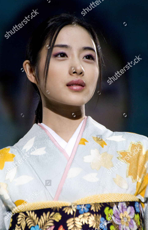 Leading Japanese Actress Satomi Ishihara Models Latest Foto Editorial Imagem De Banco Shutterstock