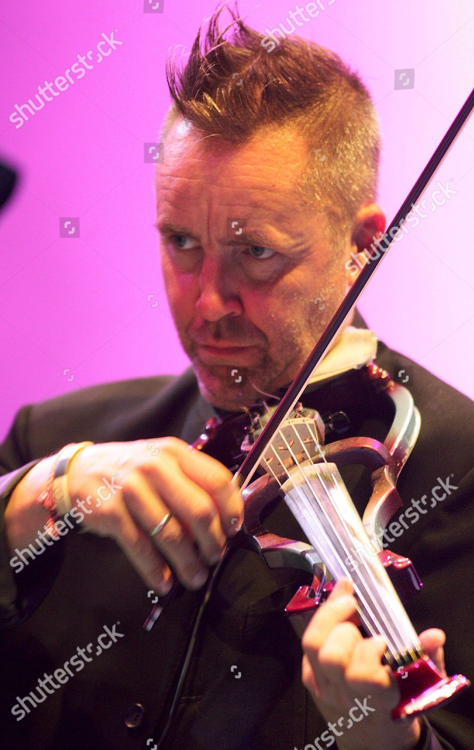 British Violinist Nigel Kennedy Performs During Inaugurate
