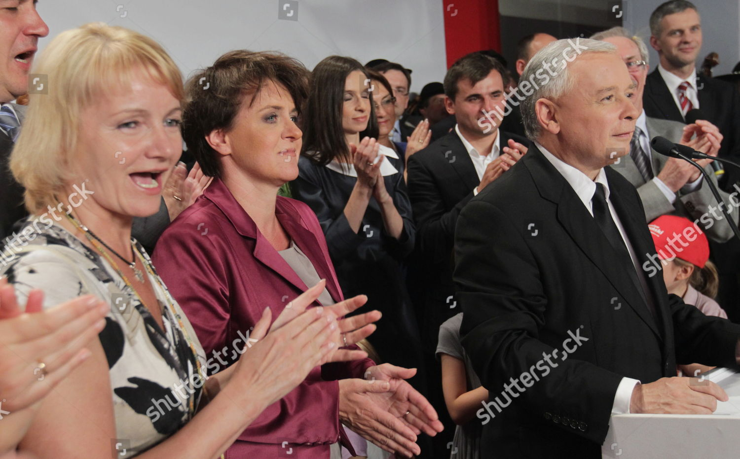 Stock photo of Poland Presidential Elections Runoff - Jul 2010