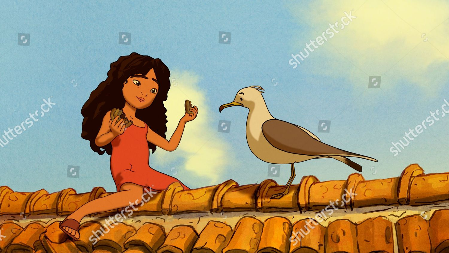 Animation By Tomm Moore Editorial Stock Photo - Stock Image