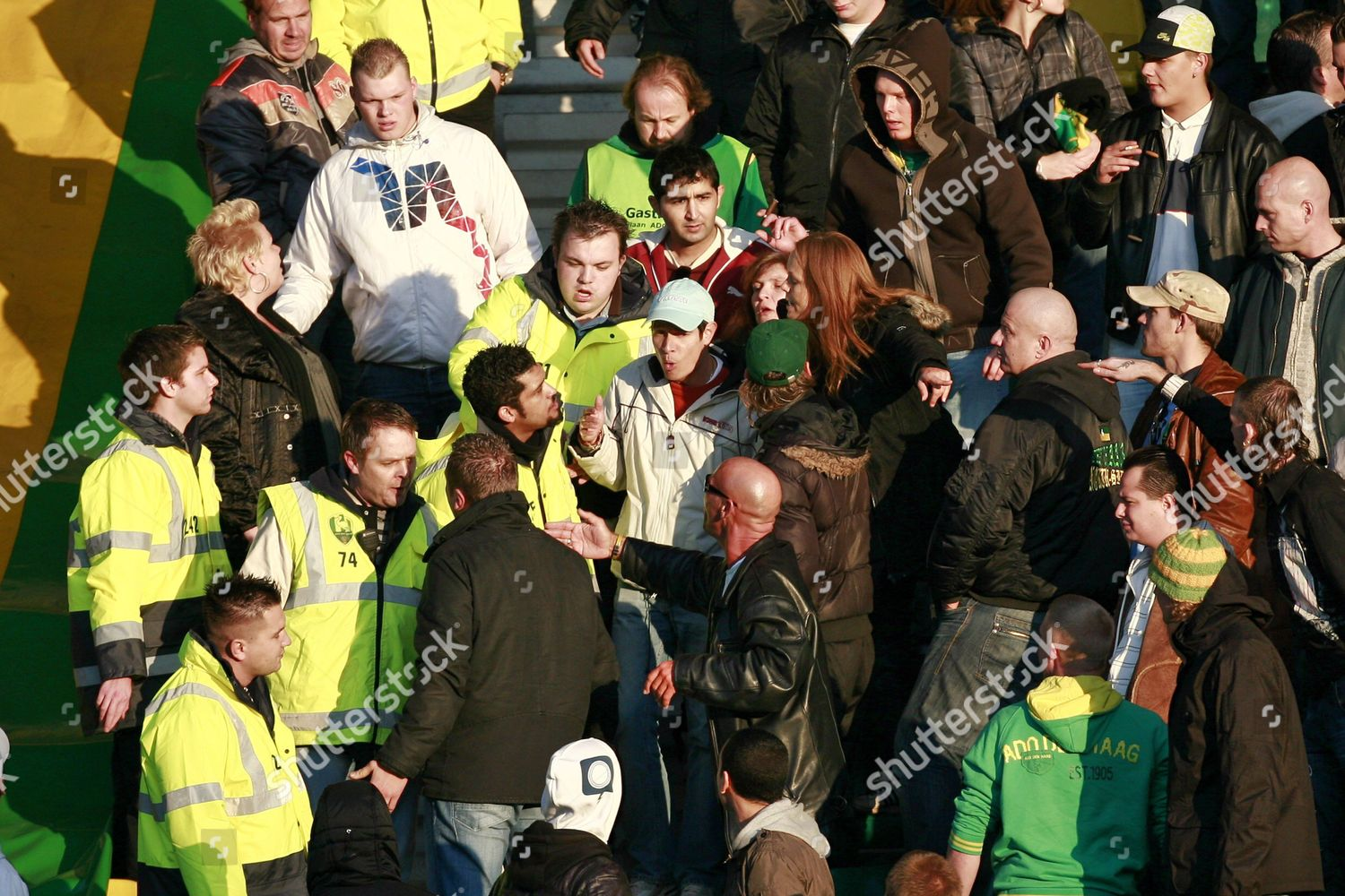 Ado Den Haag Supporters React Towards Security Editorial Stock Photo Stock Image Shutterstock