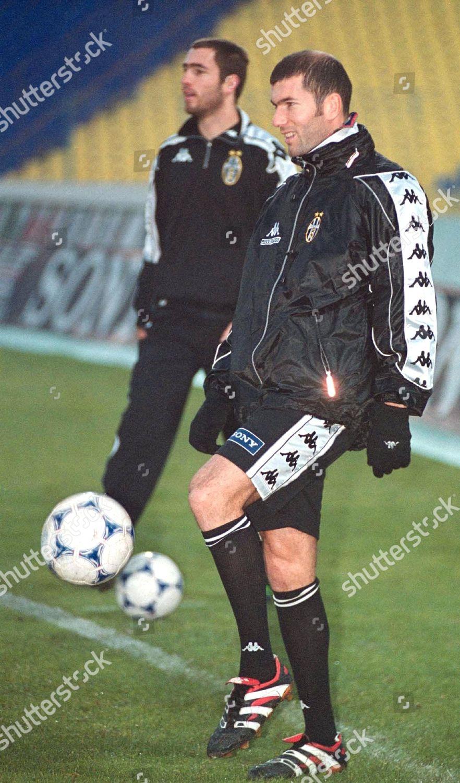Sofia Bulgaria Juventus Turin Playmaker Zinedine Zidane Editorial Stock  Photo - Stock Image