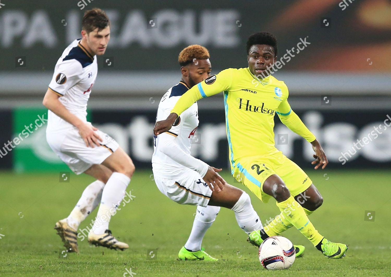 Nana Asare AA Gent during UEFA Europa Editorial Stock Photo - Stock Image
