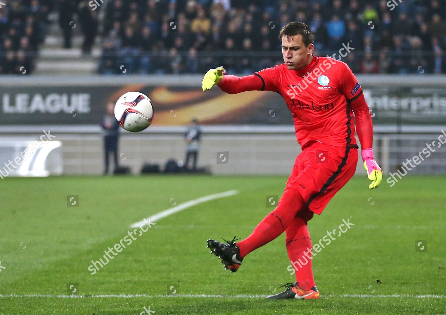 Lovre Kalinic AA Gent during UEFA Europa Editorial Stock Photo - Stock  Image