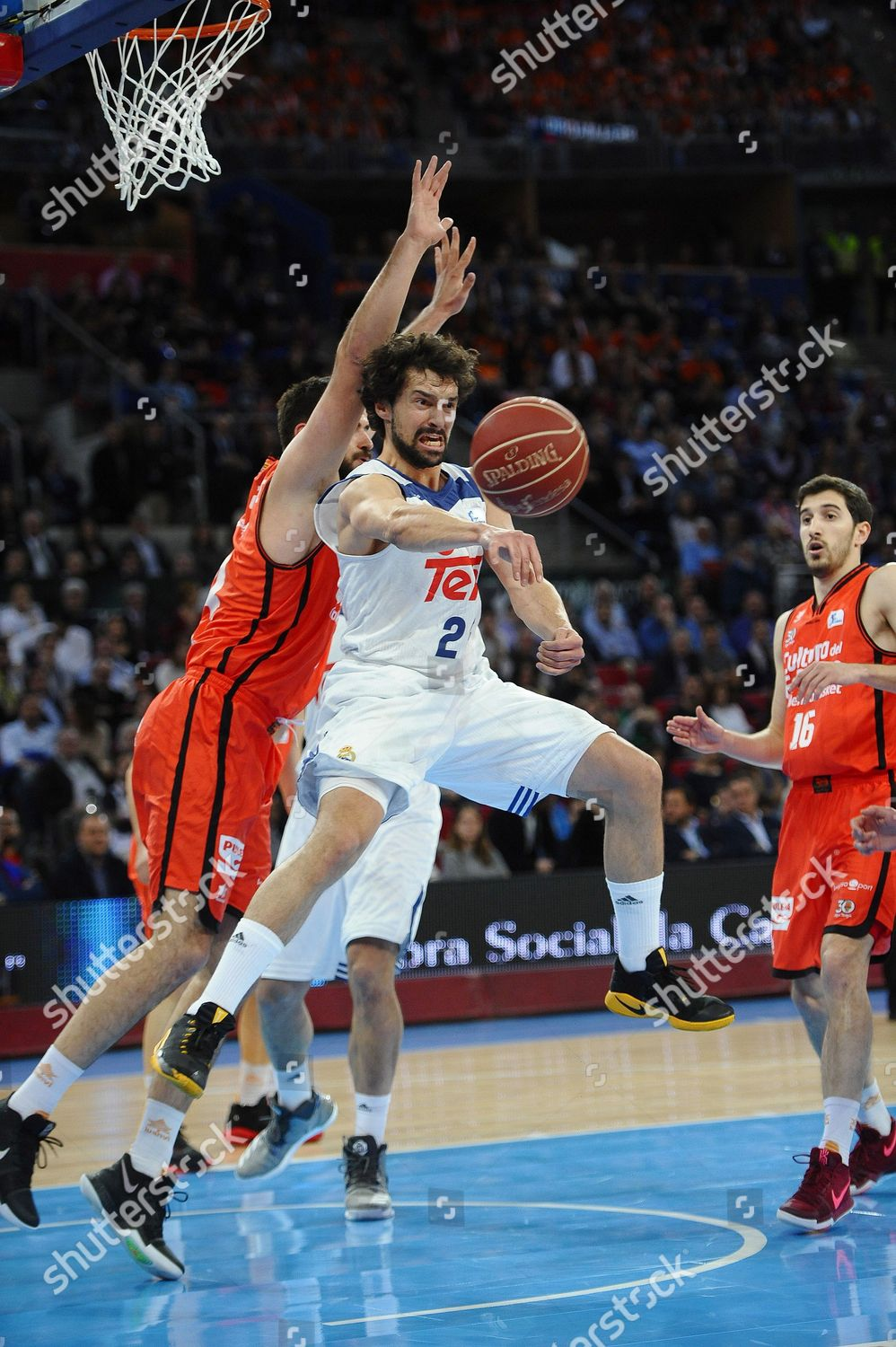 Real Base Sergio Llull 2l Montenegrin Pivot Editorial Stock Photo