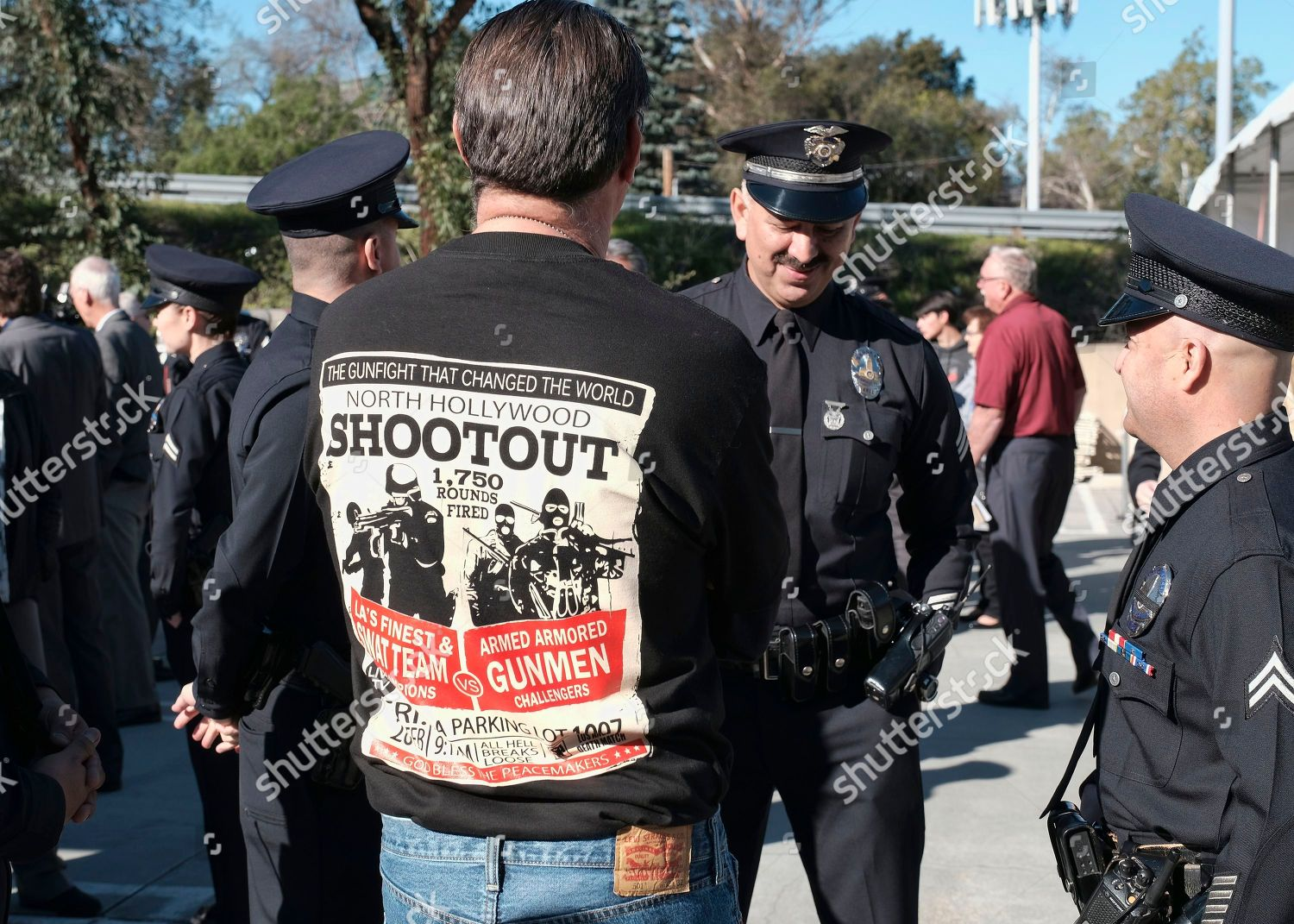 Retired Los Angeles police department Sgt Harry Editorial