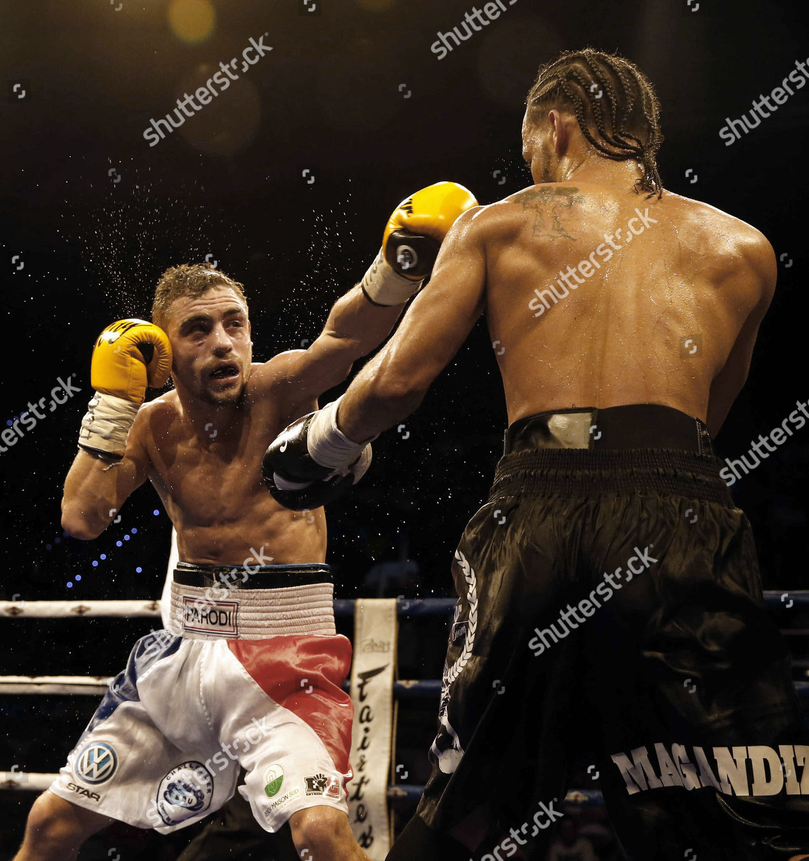 Dominicanborn Spanish Boxer Abigail Medina Bebe r Editorial Stock