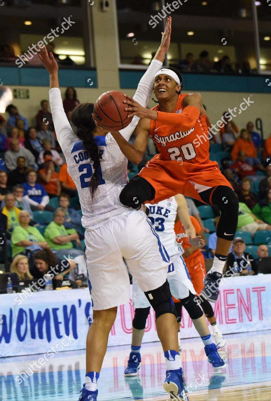 Conway Sc Syracuse Orange Guard Brittney Sykes Editorial