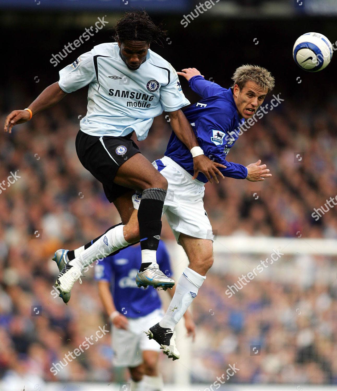 Stock photo of FA Barclays Premiership everton V Chelsea - 23 Oct 2005