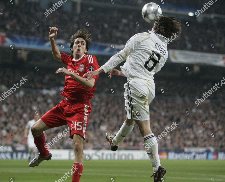 Fernando Gago Real Madrid Anticipates Yossi Benayoun Editorial