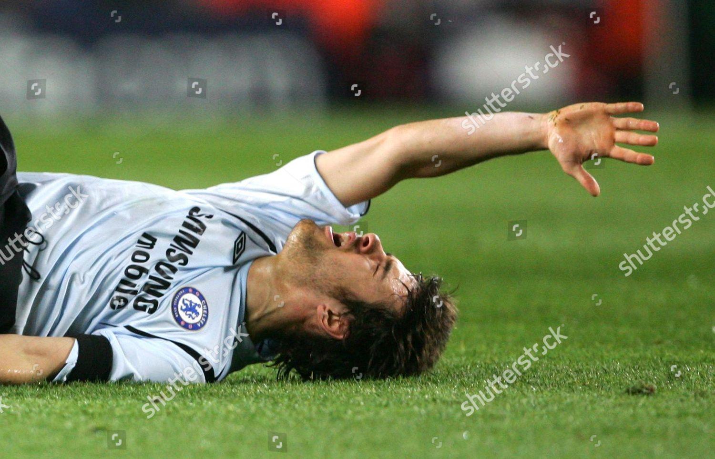 Stock photo of Uefa Champions League\uefa Champions League 2nd Round Knockout\barcelona V Chelsea - 07 Mar 2006